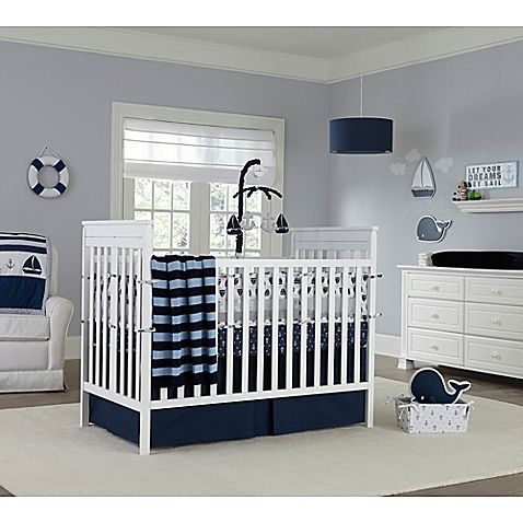Create the nursery of your dreams with the Nautica Kids Mix & Match Crib Bedding Collection.