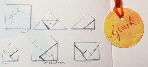 ber ideen zu briefumschlag falten auf pinterest briefumschlag brief falten und. Black Bedroom Furniture Sets. Home Design Ideas