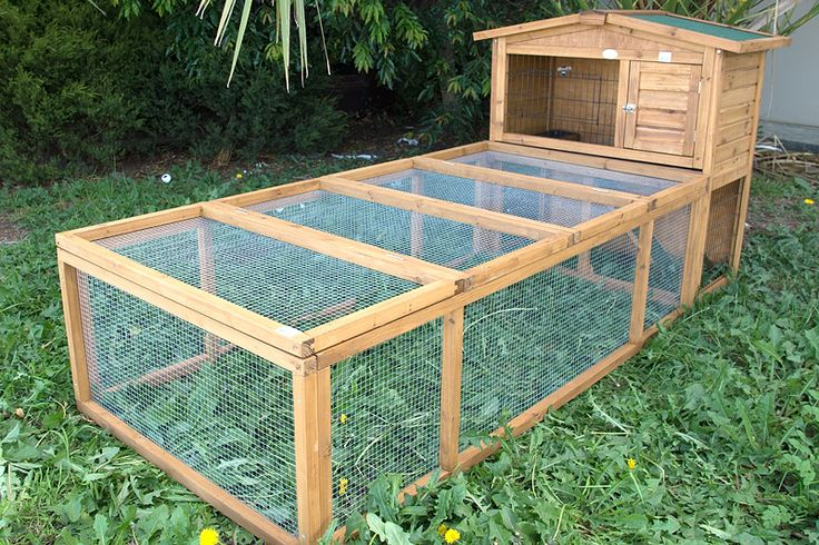 Double storey rabbit hutch plans woodworking projects for Guinea pig outdoor run plans