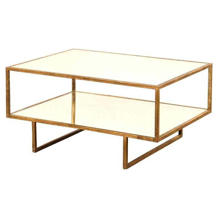 Best 25 mirrored coffee tables ideas on pinterest for Coffee tables 16 inches high