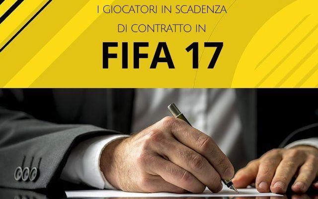 Fifa 17: l'elenco dei calciatori in scadenza di contratto Parte la nostra rubrica dedicata ai consigli per la modalità carriera di Fifa 17: abbiamo deciso di selezionare per voi quei calciatori che sono in scadenza di contratto e possono pertanto essere acq #fifa17 #consigli