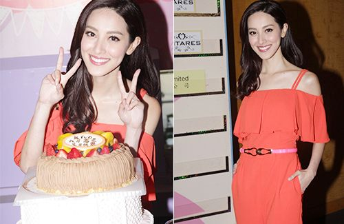 Grace Chan probably won't be celebrating her 25th birthday with boyfriend Kevin Cheng. She will be shooting a new drama with Edwin Siu and Ben Wong.