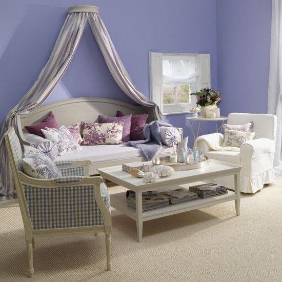 Alwinton Corner Sofa Handmade Fabric. Lavender Living RoomsPurple Living  RoomsLiving Room ...