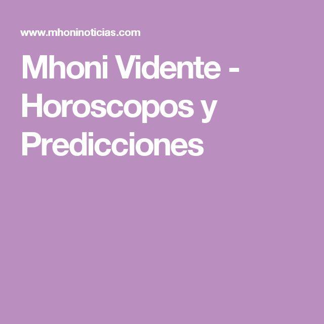 Mhoni Vidente - Horoscopos y Predicciones