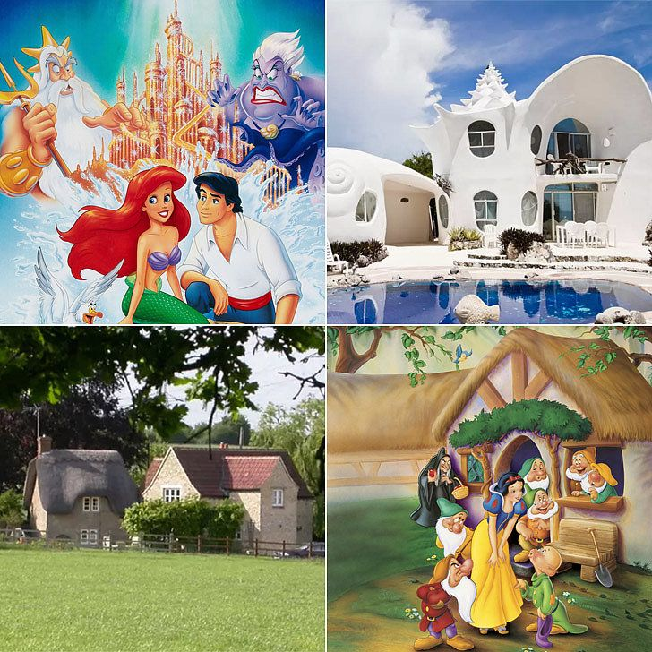 Airbnb Rentals Straight Out of Disney Movies- Will you find your magic castle?