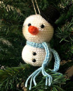 33Threads: Christmas Ornaments!!! Snowman