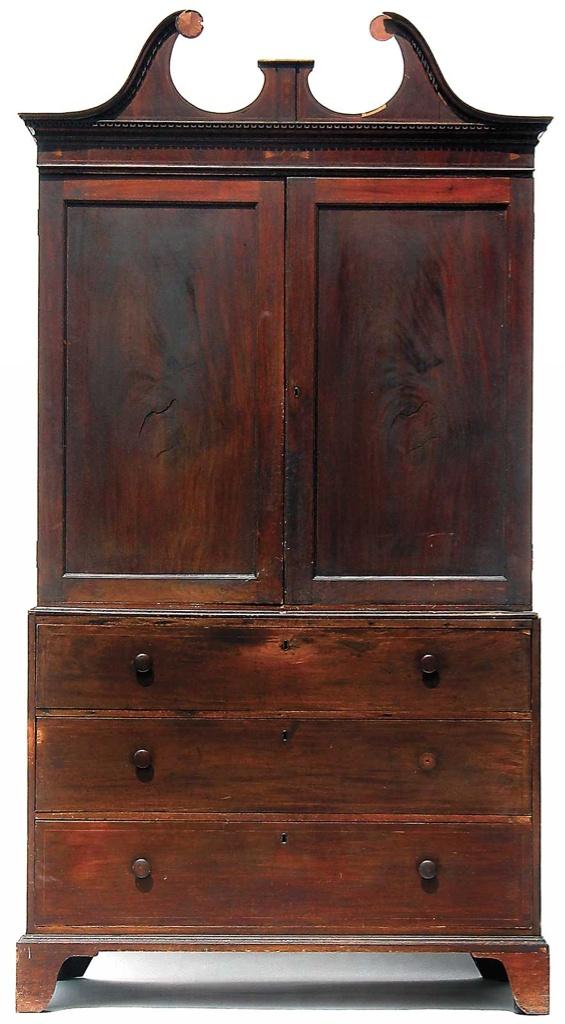 Drayton Linen Press 1790 1810 Produced In Charleston