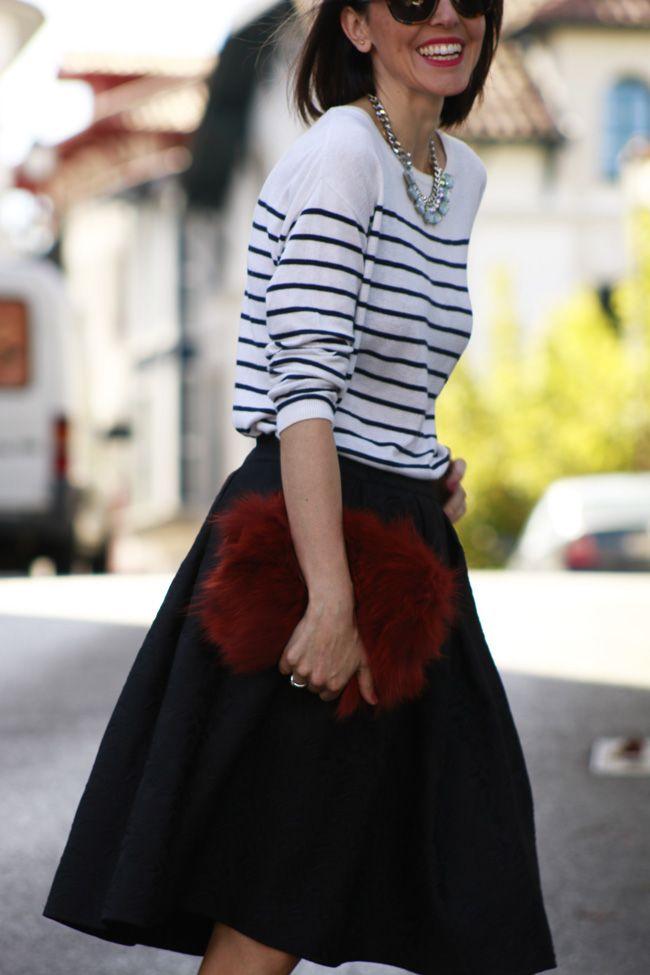 HendayeStyle: Manual de uso para faldas midi #kissmylook