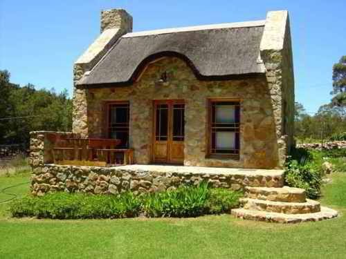 84 best stone cottages images on pinterest stone houses for Brick cabin