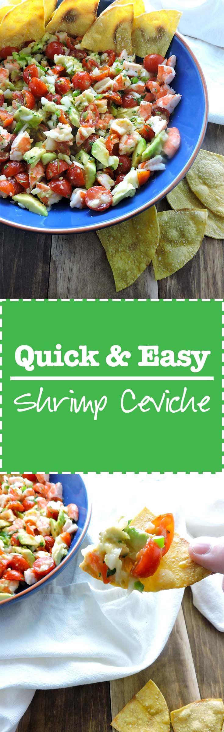 Quick Shrimp Ceviche                                                                                                                                                                                 More