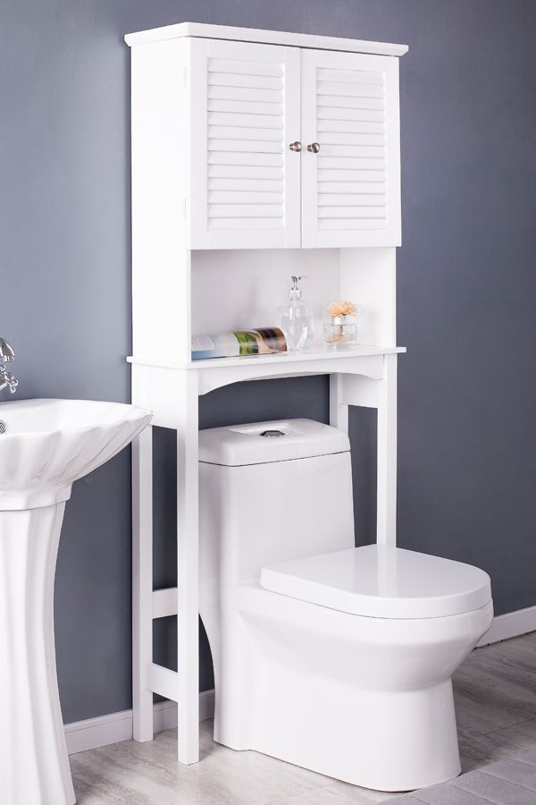 Maximize Bath Space. Our HANNA Shelf Will Be A Stylish Addition For Storing  Towels And