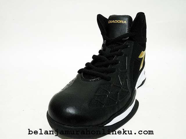 Sepatu Basket Diadora Grinnell warna : Black | Belanja murah online