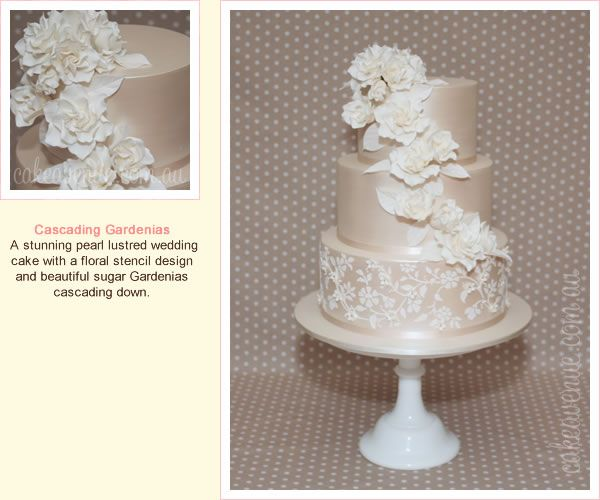Ac Cake Decorating Hornsby Nsw : 1000+ images about Gumpaste Gardenia on Pinterest ...