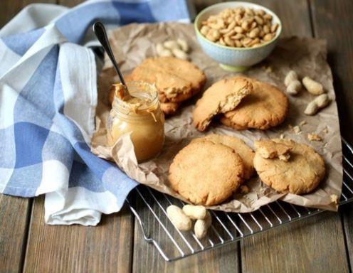 Erdnussbutter Cookies Rezept