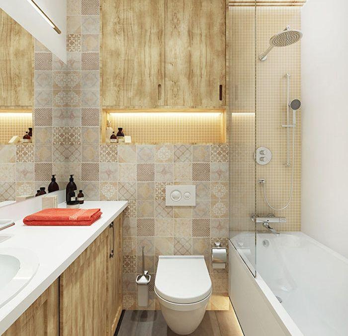 1620 best salle de bain images on pinterest - Agencement petite salle de bain ...