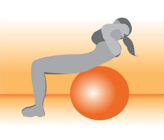 Ab workouts: the kind you can do on a mat or ball and the pictures are simple