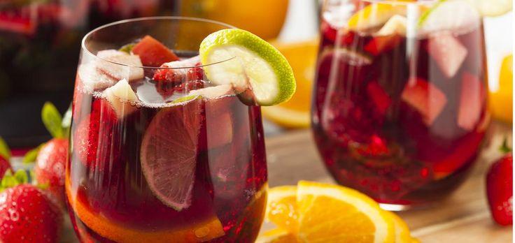 Безалкогольная Сангрия-5 рецептов