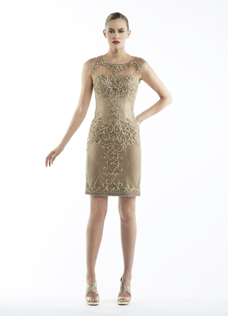 Couture Candy - Sue Wong - N5433 in Caramel Cocktail Dress, $214.80 (https://www.couturecandy.com/sue-wong-n5433-in-caramel/)