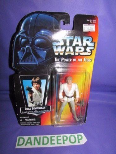Star Wars Luke Skywalker The Power Of The Force Kenner Hasbro toy w/ lightsaber #starwars #lukeskywalker #kenner #hasbro #toy #scifi #dandeepop