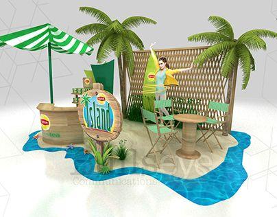"Check out new work on my @Behance portfolio: ""Lipton Green Island"" http://be.net/gallery/46585655/Lipton-Green-Island"