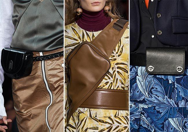 Fall/ Winter 2015-2016 Handbag Trends: Cross-Body and Belt Bags: