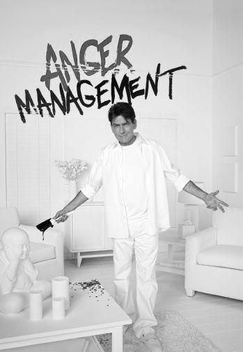 Anger Management Charlie Sheen poster Metal Sign Wall Art 8in x 12in