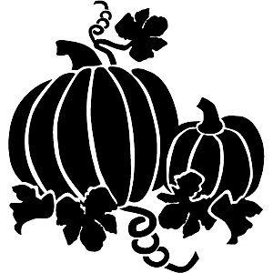 17 best images about fall halloween stencils on pinterest for Fall pumpkin stencils