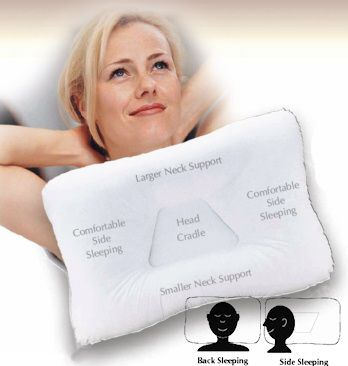 pillow recommended for back and side sleepers