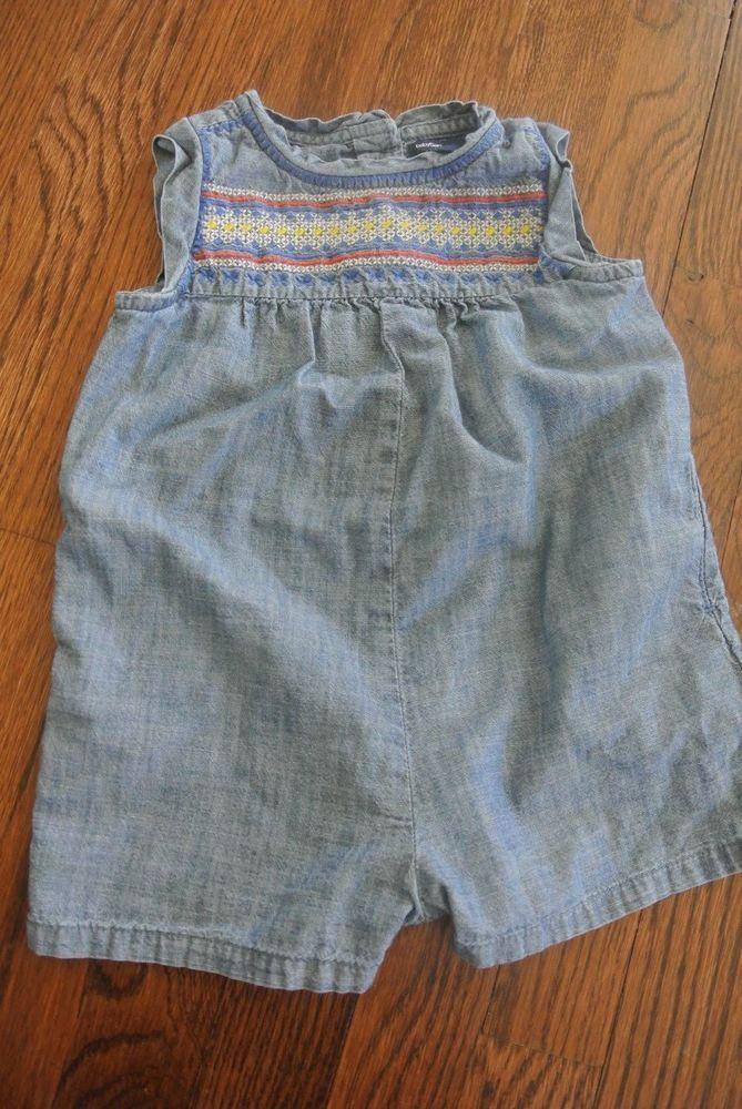 Gap Baby Girl's Denim Dress Girls' Clothing (newborn-5t) 18-24m