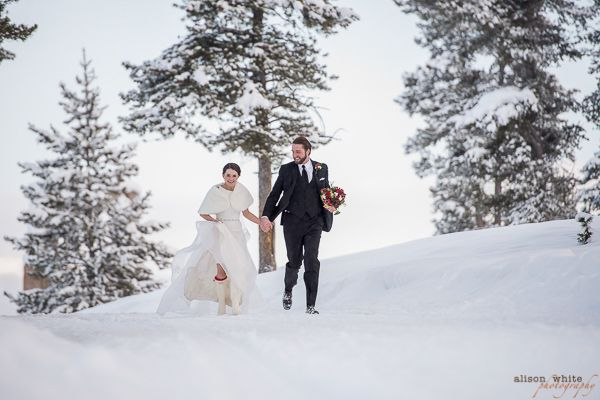 Photo by alison white photography crested butte co for Uley s cabin crested butte wedding
