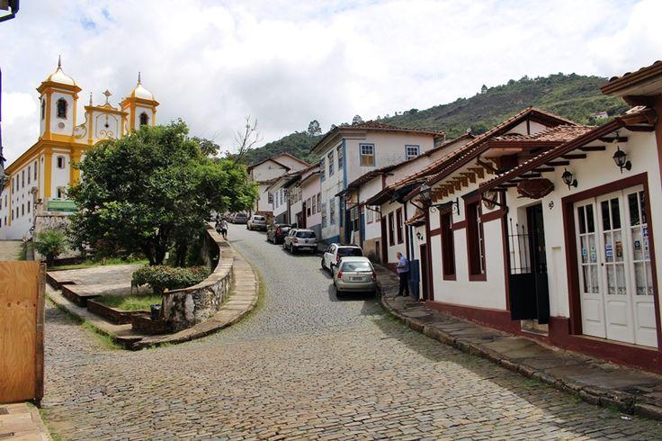 A Pousada do Ouvidor, em Ouro Preto, fica próxima à Igreja de Nossa Senhora da Conceição.