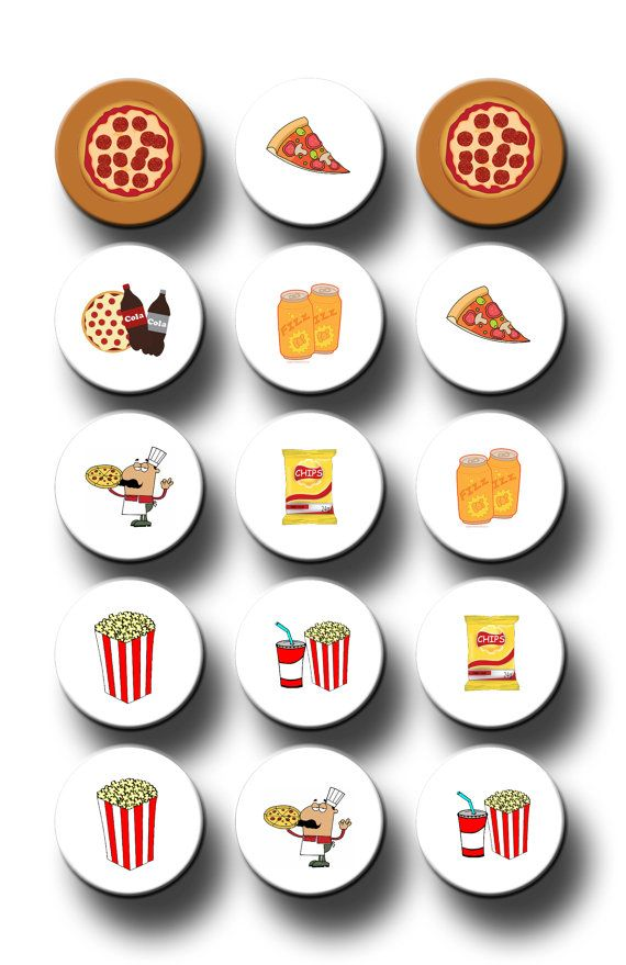 Hey, I found this really awesome Etsy listing at https://www.etsy.com/listing/223534843/pizza-party-theme-party-favors-1-inch