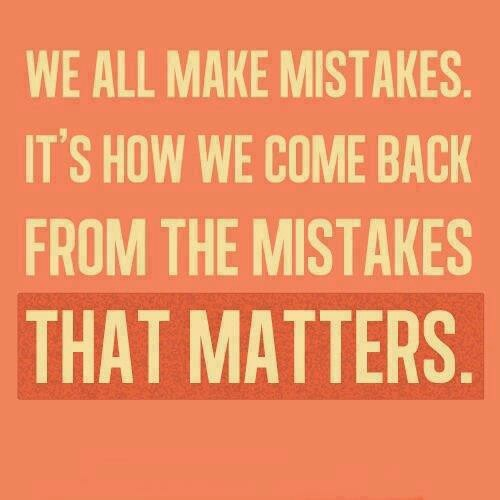 Mistakes   Life Sayings & Relationships   Pinterest