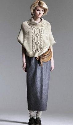 вязанные вещи на подиуме показах мод фото вязанные вещи - кардиганы, твидовые шерстяные юбки средней длинны, ... - мастераполимернойглины.рф #yandeximages