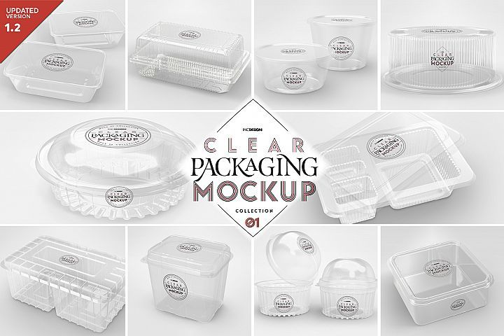 Download Vol 1 Clear Packaging Mockup Collection 158599 Branding Design Bundles Free Packaging Mockup Design Mockup Free Packaging Mockup