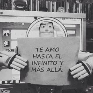Te amo hasta el infinito y mas allá