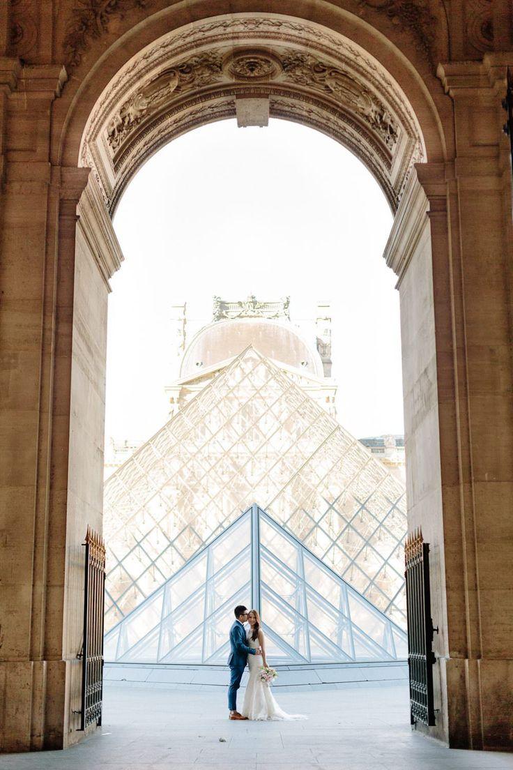 Photography: French Grey Photography #パリ #前撮り #海外ウエディング #ロケーションフォト #ルーブル美術館