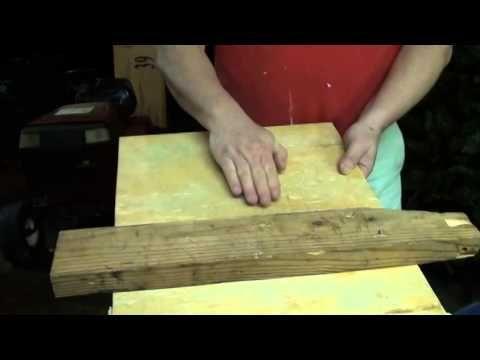 Carpet Stretcher (home-made) - YouTube