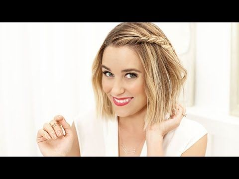 Get LC's side braid with this tutorial.