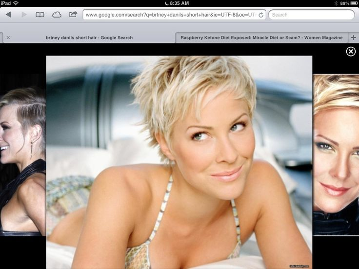 Britney Daniels so cute I tryed this cut turned out awesome!