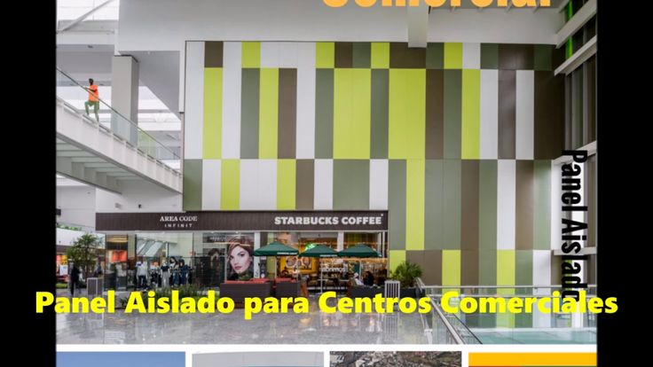 panel aislado para centros comerciales