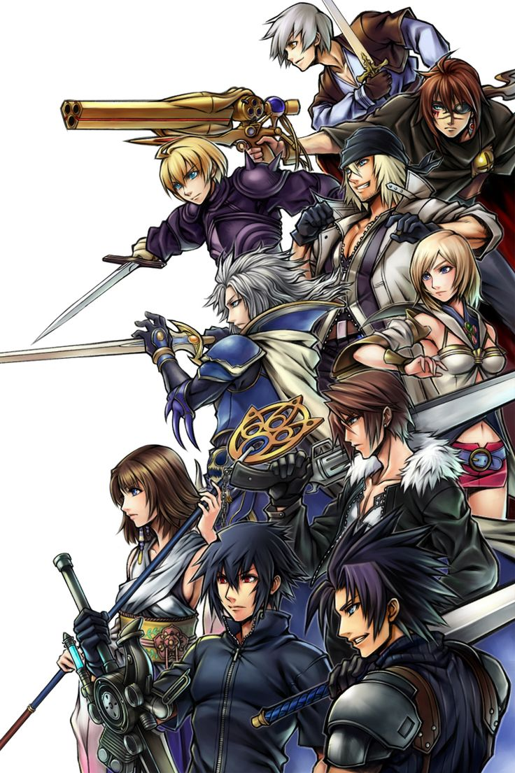17 Best Ideas About Final Fantasy On Pinterest