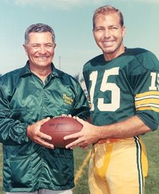 Vince Lombardi and Bart Starr                                                                                                                                                     More