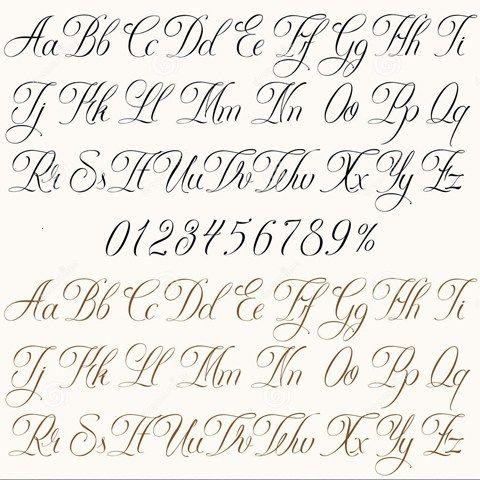 10 letras para tatuajes de mujer abecedario (8)                                                                                                                                                                                 Más