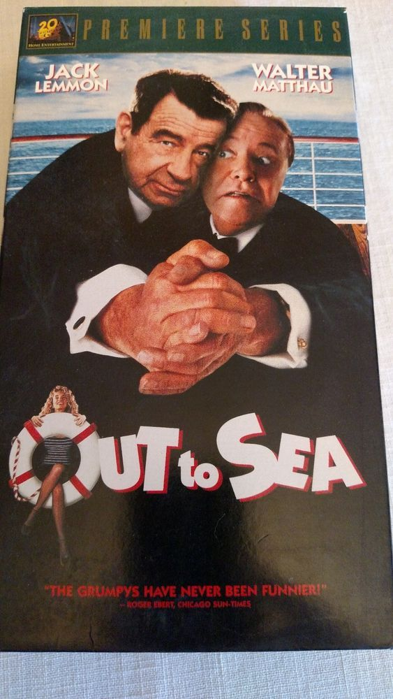 "VHS ""Out to Sea"" with Jack Lemmon & Walter Matthau"