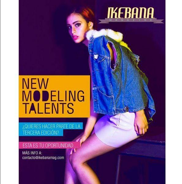 New modeling talents, con IKEBANA MAGAZINE