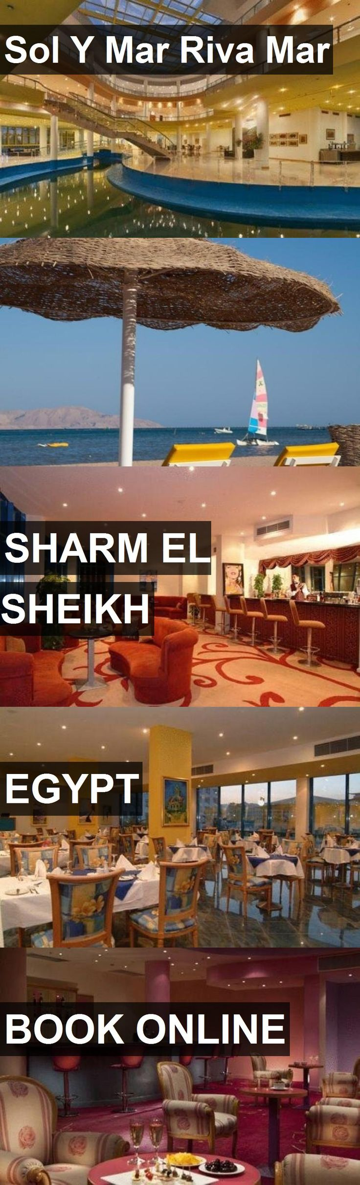 Hotel Sol Y Mar Riva Mar in Sharm el Sheikh, Egypt. For more information, photos, reviews and best prices please follow the link. #Egypt #SharmelSheikh #travel #vacation #hotel