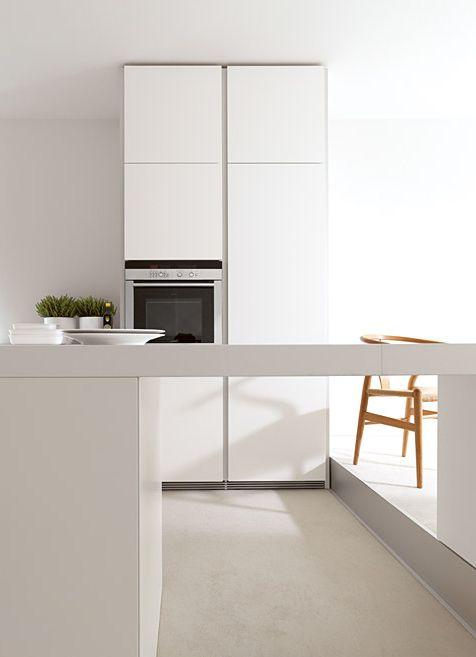 1000 images about b1 de witte pure keuken on pinterest plan de travail cuisine and bandeaus - Witte keuken voorzien van gelakt ...