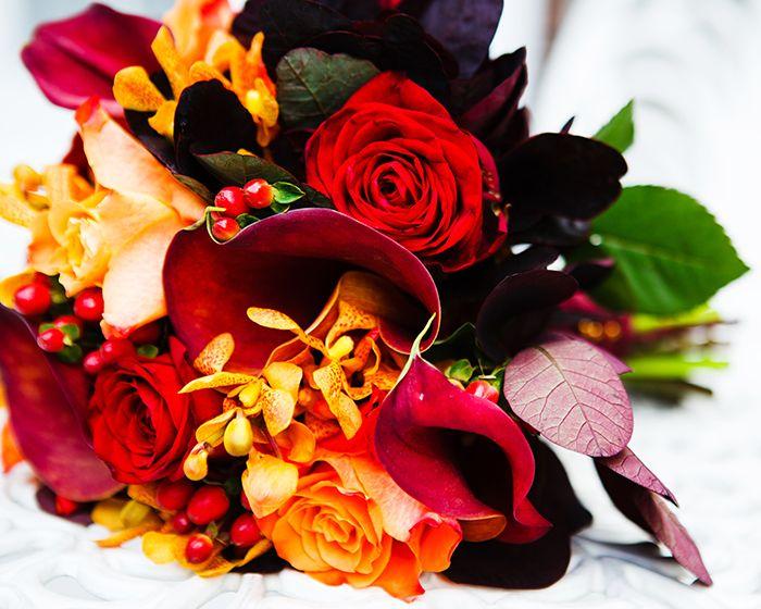Inverno bouquet da sposa: migliori consigli su cosa fiori di avere - Foto 7