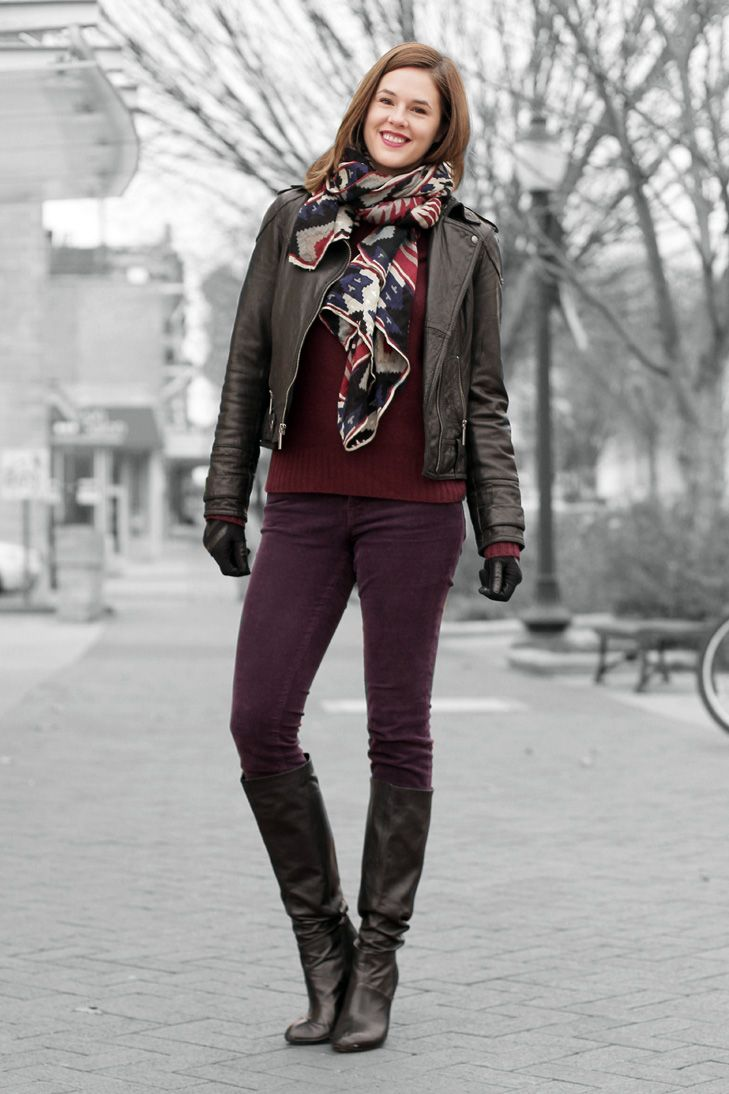 403 best images about How to wear my PURPLE pants on Pinterest
